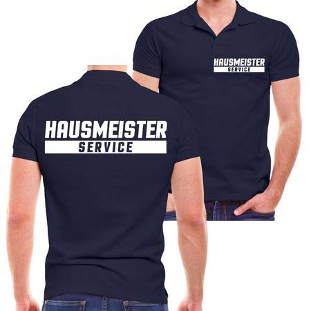 Männer POLO Hausmeister Service