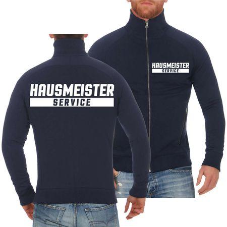 Männer Sweatjacke Hausmeister Service