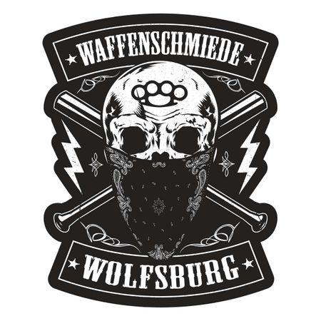 Aufkleber Waffenschmiede Wolfsburg