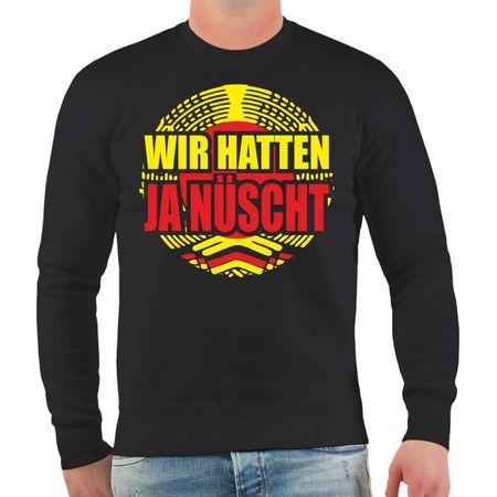 Männer Sweatshirt DDR Wir hatten ja nüscht