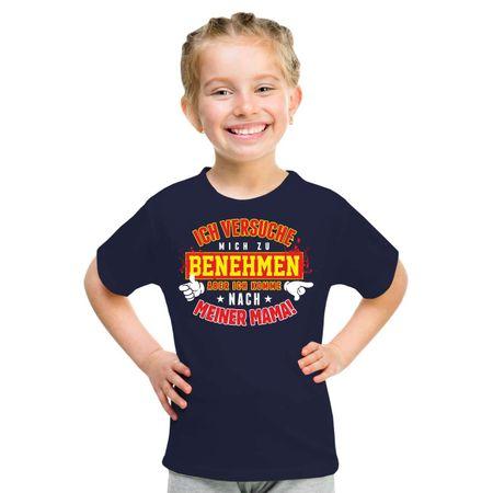 Kinder T-Shirt Ich komme nach meiner MAMA
