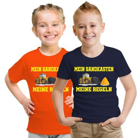 Kinder T-Shirt Mein Sandkasten Meine Regeln