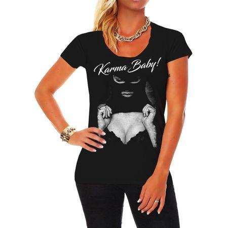 Frauen Shirt Karma Baby 2020