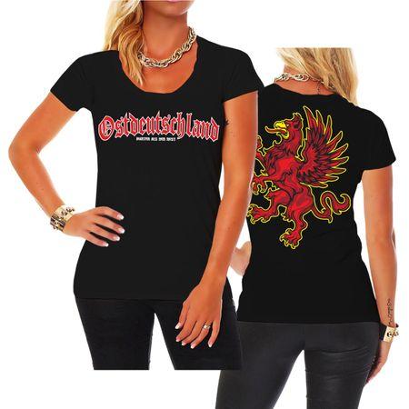 Frauen Shirt Ostdeutschland Pommern Vorpommern
