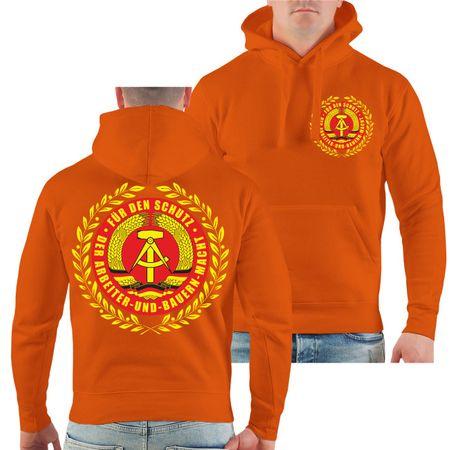 Männer Kapu DDR Für den Schutz der Arbeiter und Bauernmacht