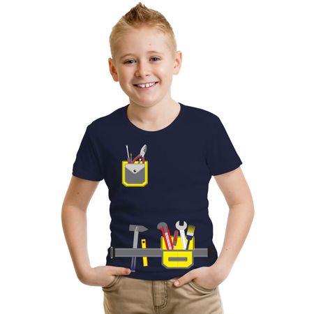 Kinder T-Shirt Vater Sohn Werkzeug Hammer Schraubenzieher