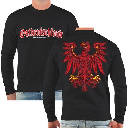 Männer Sweatshirt Ostdeutschland Brandenburg