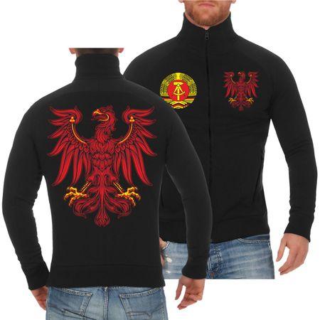 Männer Sweatjacke Ostdeutschland Brandenburg