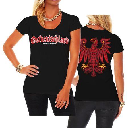 Frauen Shirt Ostdeutschland Brandenburg