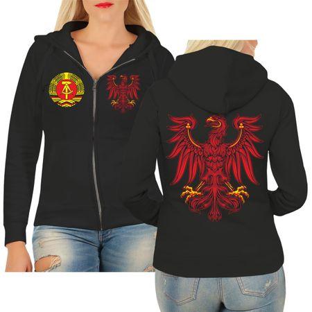 Frauen Kapujacke Ostdeutschland Brandenburg