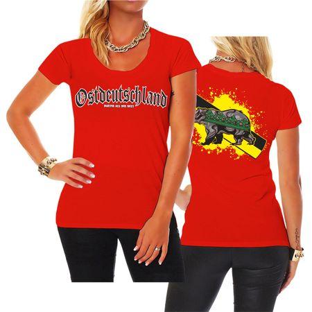 Frauen Shirt Ostdeutschland Sachsen Anhalt