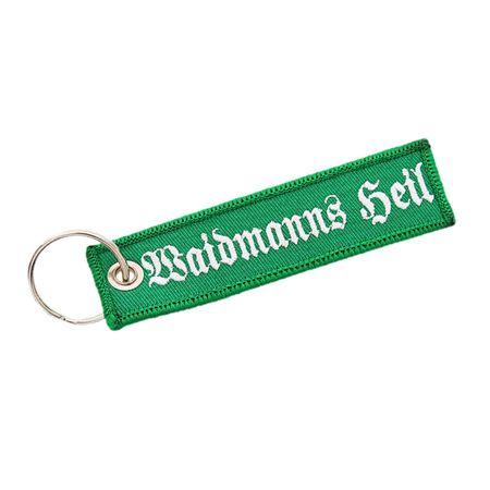 gewebter Schlüsselanhänger Waidmanns Heil