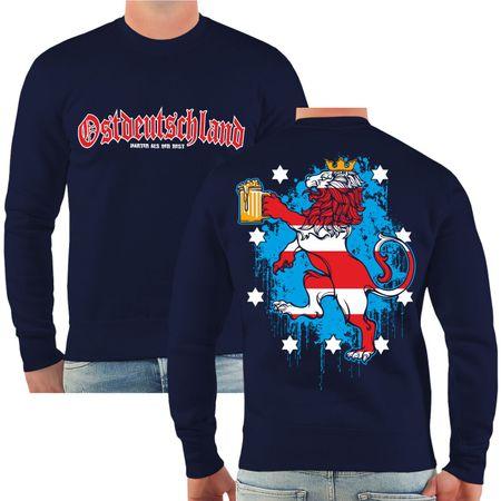 Männer Sweatshirt Ostdeutschland Thüringen
