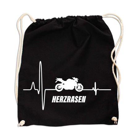 Rucksack Herzrasen Motorrad Fighter