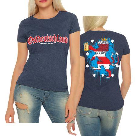 Frauen Shirt Ostdeutschland Thüringen