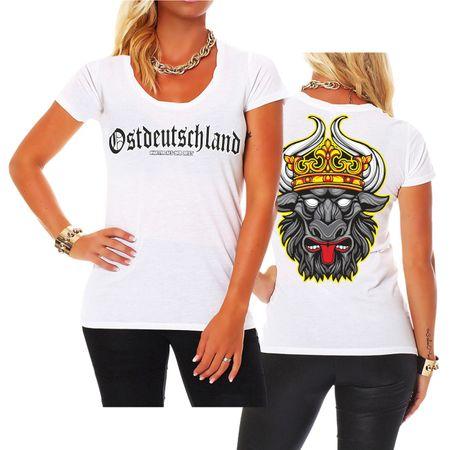 Frauen Shirt Ostdeutschland Mecklenburg