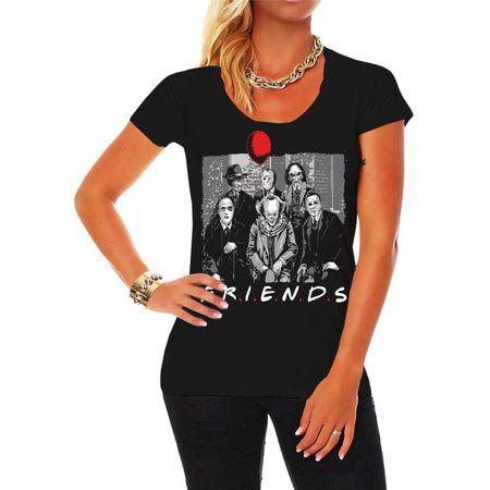 Frauen Shirt Horror Family