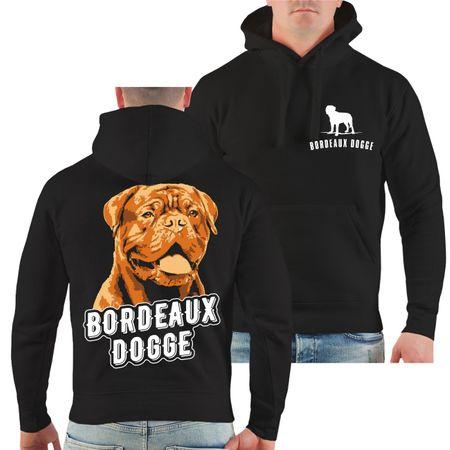 Männer Kapu Bordeaux Dogge Porträt