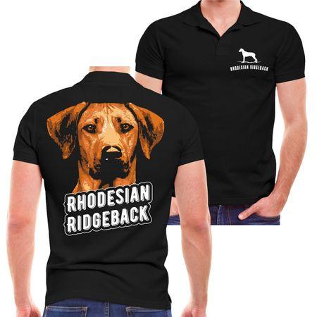 Männer POLO Rhodesian Ridgeback Porträt