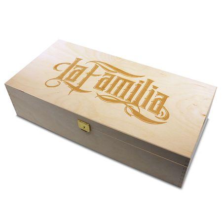 Holzbox La Familia