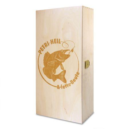 Holzbox Petri Heil