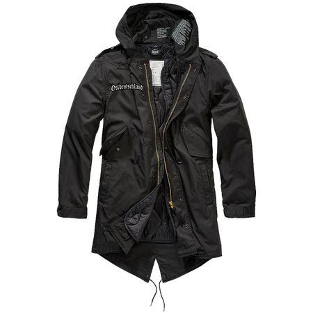 Parka lang Winter Jacke mit heraustrennbaren Futter OSTDEUTSCHLAND