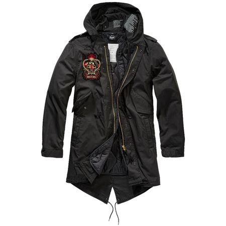 Parka lang Winter Jacke mit heraustrennbaren Futter ROCK'N ROLL