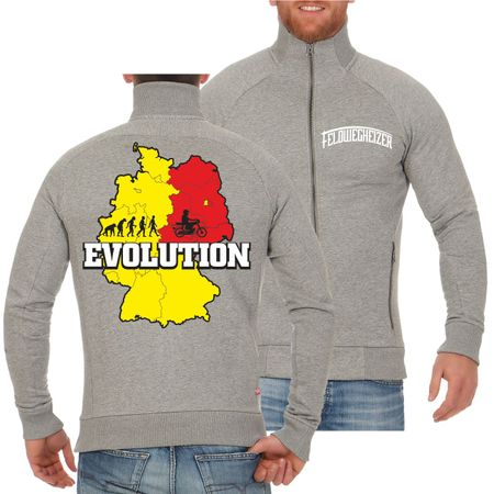 Männer Sweatjacke Evolution 2 Takt Power