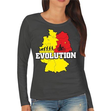 Frauen Longsleeve Evolution 2 Takt Power