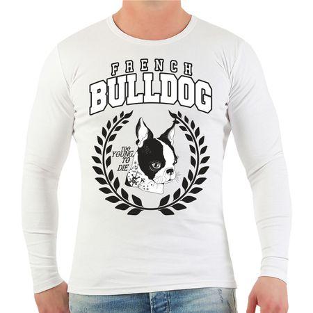 Männer Longsleeve French Bulldog 2020