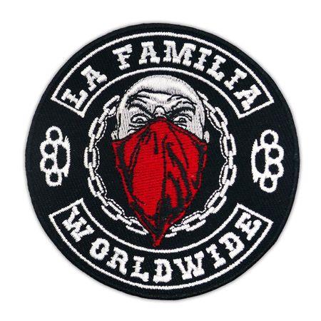 Aufnäher Aufbügler La Familia WORLDWIDE