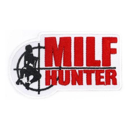 Aufnäher Aufbügler Milf Hunter
