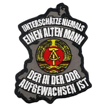 Aufnäher Aufbügler Alter Mann aus der DDR