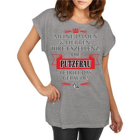 Frauen Shirt Ihre Exzellenz DIE PUTZFRAU