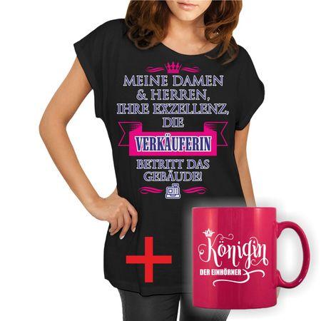 Damen Frauen First of All Coffee Drucken V-Ausschnitt T-Shirt Kurze Ärmel Tops