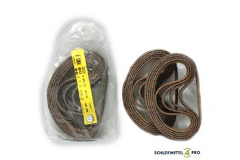 10 Klingspor Vliesbänder 20x520mm coarse Metall Inox Legierungen Made in EU – Bild 1