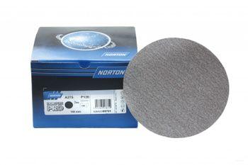 100 x NORTON A275 Schleifscheiben 150 mm ungelocht K 500 klett Holz Lack Metall made in E.U
