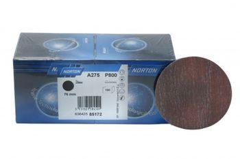 50 NORTON Schleifscheiben A 275 - 75 mm ohne Lochung Korn 320 klett