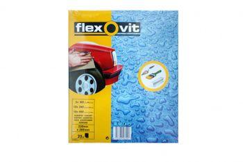 25 x Flexovit Schleifpapier wasserfest 230x280 mm 5 x K180, 10 x K240, 10 x K400 – Bild 1
