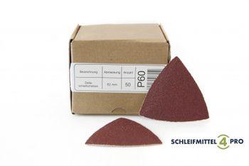 25 SANDERSHARK Deltablätter 82mm K36 klett Markenqualität – Bild 1
