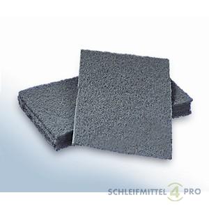 10 Stück Handpads 115 x 230 mm Vlies UF=ultra fein K1500 grau   – Bild 1
