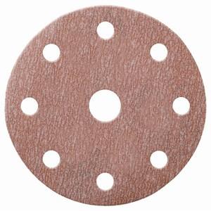100 x NORTON A275 Schleifscheiben 150 mm 8+1 Loch K 320 klett Holz Lack Metall made in E.U – Bild 1