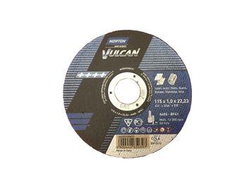 25 NORTON Vulcan Trennscheiben 115x1,0mm Metall / INOX T41 gerade Made in EU – Bild 2