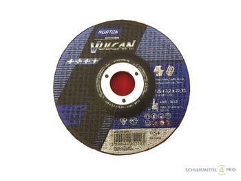 25 NORTON Vulcan Trennscheiben 125x3,2mm Metall / INOX T42 gekröpft Made in EU – Bild 1