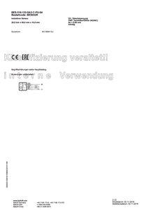 1 x Balluff Induktiver Sensor Type BES 516 133 SA3 C PU 04 BESO32R – Bild 3