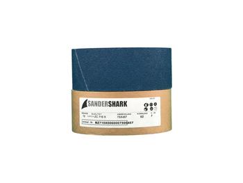 10 SANDERSHARK Schleifbänder 75x457mm K60 Gewebe Zirkon Edelstahl Metall Hartholz Made in Austria – Bild 2
