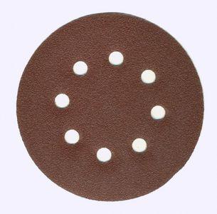 SALE% 50 Stück Schleifscheiben ⌀ 125 mm 8 Loch K 150 klett – Bild 2