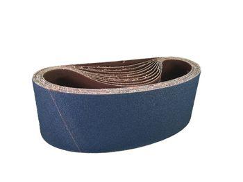 10 SANDERSHARK Schleifbänder 50x1500 P80 Gewebe Zirkon Edelstahl Metall Hartholz Made in Austria – Bild 2