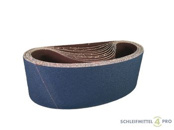 5 SANDERSHARK Schleifbänder 200x480mm P40 Gewebe Zirkon Edelstahl Metall Hartholz Made in Austria – Bild 1