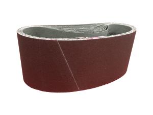 10 x SANDERSHARK Schleifband  65x410 mm P80 Alox Holz Metall Lack Made in Austria